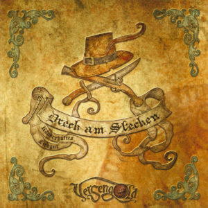 """Cover vom Versengold-Album """"Dreck am Stecken"""""""