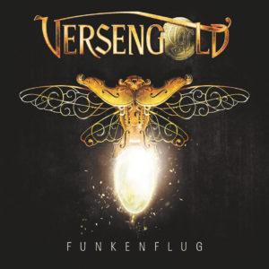 """Cover vom Versengold-Album """"Funkenflug"""""""