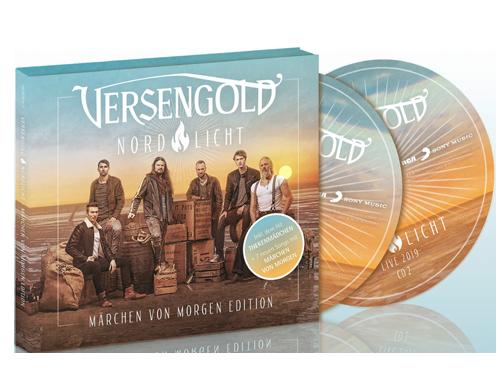 Cover vom Versengold-Album Märchen von Morgen